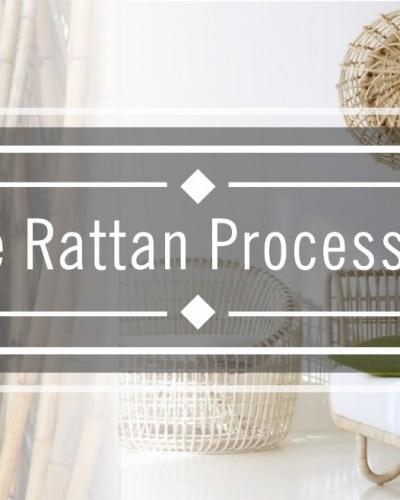 Rattan Processing Steps