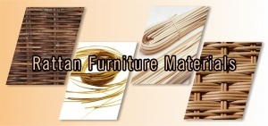 rattan furniture materials