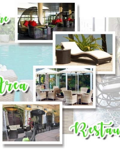 where to place rattan furniture